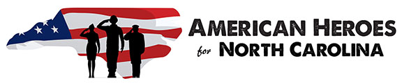 American Heroes for NC logo